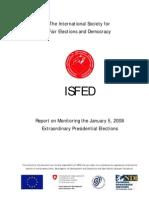 Isfed Electionreport 2008 Eng