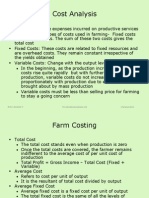 Farm Costing and Budgeting