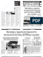 Versión impresa del periódico El mexiquense  8 agosto 2013