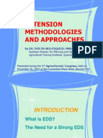 Extension Approaches and Methodologies