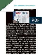 Judaismo Da Unidade Demolindo a Farsa Da Trindade
