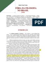 Historia Da Filosofia No Brasil