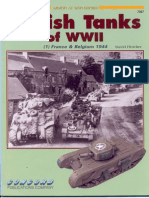 British Tanks of WWII 1 France Belgium 1944