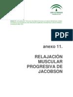 Anexo 11 Relajación muscular progresiva