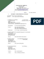 Directorio Parroquias, párrocos y vicarios