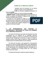 Plan de Convivencia CRA LA Fresneda (Modif Junio13)