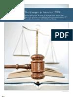 Best Lawyers 2009