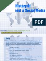 History of Digital Trend and Social Media