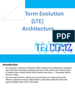 Long Term Evolution (LTE) Architecture