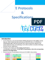 LTE Protocols & Specifications