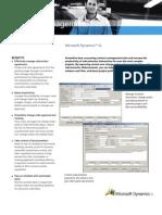 Microsoft Dynamics SL ContractManagement