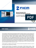 FXCM Second Quarter 2013 Earnings