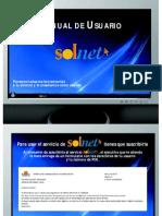 Manual Solnet 2013