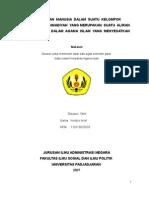 Paper Doktrim Ahmadiah (Agama Islam)