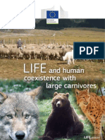 LIFE and human coexistence with large carnivores, EU 2013 (rapport)