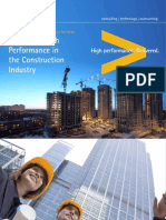 Accenture Achieving High Performance Construction Industry