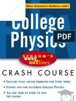 Schaum's Easy Outlines - College Physics Crash Course - F. Bueche, E. Hecht.pdf