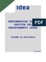 Informe Benchmarking Gestión del Departamento Legal - Octubre 2007.pdf