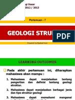 Pert-7 Geologi Struktur