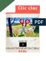 Je lis tout seul Série 02 No 02 Clic Clic Clac 1972