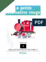 Je lis tout seul Série 01 No 01 La petite locomotive rouge 1972