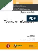 Guia de Aprendizaje Tecnico en Informatica