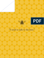 I Need to Talk to the Bees
