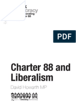 Charter 88 and Liberalism