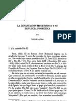 Miguel Ayuso_La devastación modernista y su denuncia profética