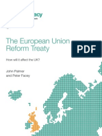 The European Union Reform Treaty