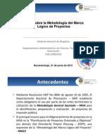 Presentacion Dr Diego Puerta COLCIENCIAS