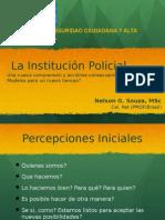Presentación de Instituciones Polciiales