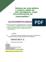 Los Documentos Seriados (La Bibliioteca)
