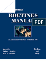 Love Systems Routines Manual VOLUME 1
