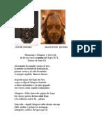 Juan Cú Homenaje a  Góngora y a Quevedo