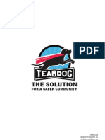 Team Dog - The Solution For A Safer Community
