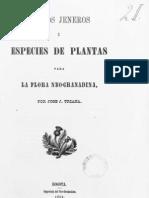 Plantas y jéneros de la flora Neo-granadina