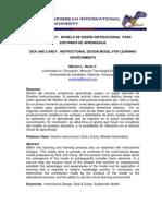 MODELO DE DISEÑO INSTRUCCIONAL  DE DICK Y CAREY  Versión 2