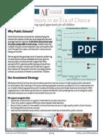 Public Schools Initiative OnePager