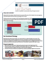 East Durham Initiative Onepager
