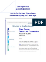 Join Us for the State Tejano Dems Convention-fighting for a Blue Tejas