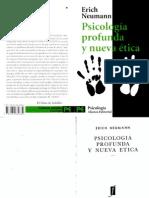 146231562 Neumann Erich Psicologia Profunda y Nueva Etica PDF