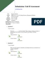 Review Test UNIT 2