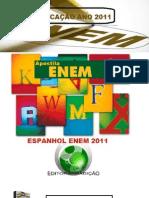 07 - Apostila de Espanhol Enem 2011