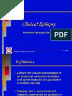 Epilepsy guideline in adults