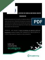 Ingeniería Química Socmin-Ecoplanning 2013