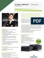 Brochure UPS Liebert_GXT3_5kva a 10kva_230V ESPAÑOL