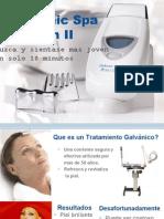 Galvanic Spa Flipchart Spanish - Whole