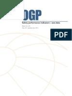 OGP Safety Performance Indicators