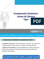 Presentacion Gestion Massa vs Gestion Insaurralde